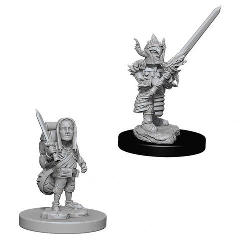 WZK73386 Male Halfling Fighter