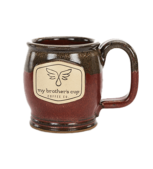 Happy Soul Brick Red 12-Ounce Mug