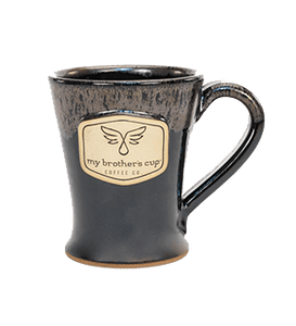 Silvery Night Black 14-Ounce Mug