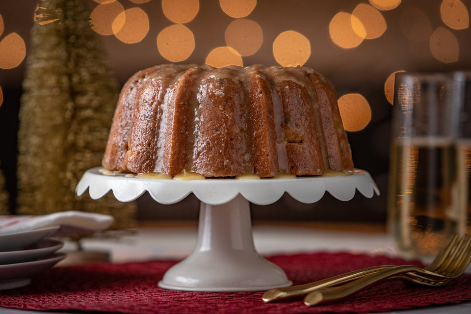 German Bundt Cake with Rum Glaze