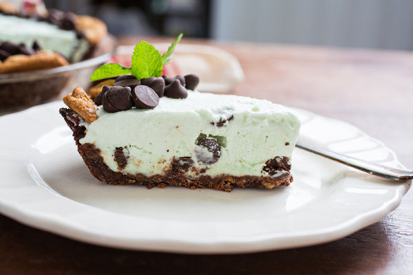 Grey Ghost Bakery Recipe Mint Julep Chocolate Chip Cookie Icebox PIe
