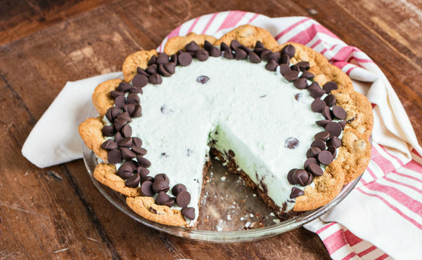 Grey Ghost Bakery Recipe Mint Julep Icebox Pie Chocolate Chip Cookie Crust
