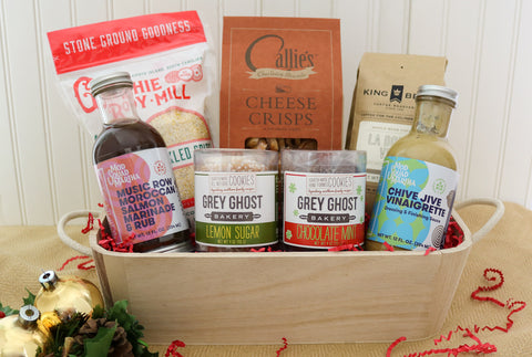 Grey Ghost Bakery Southern Entertaining Gift Basket