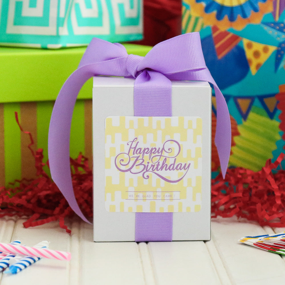 Grey Ghost Bakery Birthday Cookie Gift Boxes - Happy Birthday