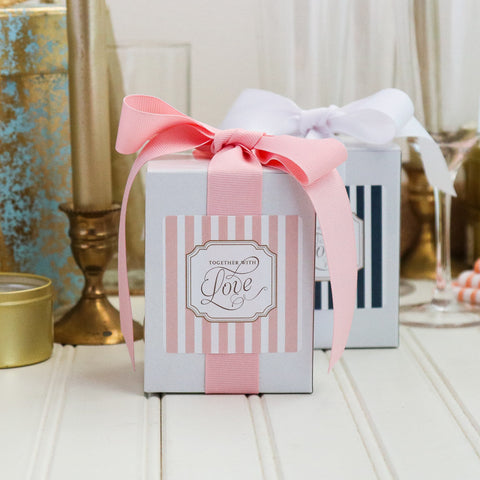 Grey Ghost Bakery Wedding Cookie Gift Boxes - Together with Love