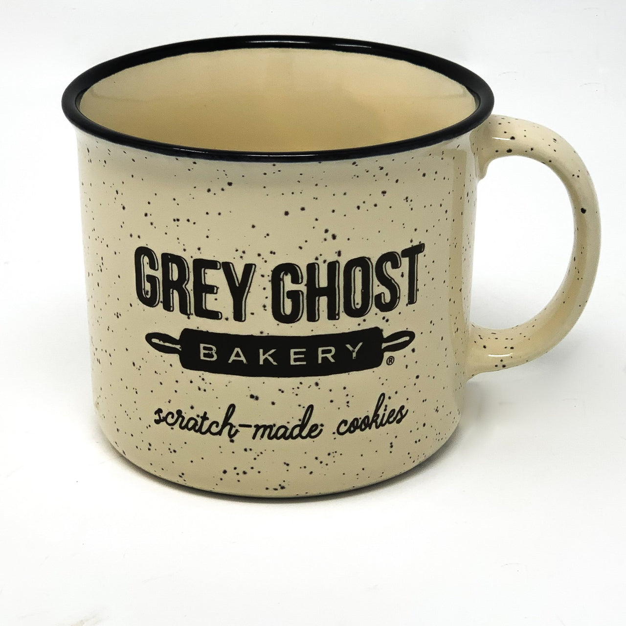 Grey Ghost Bakery Campfire Ceramic Mug