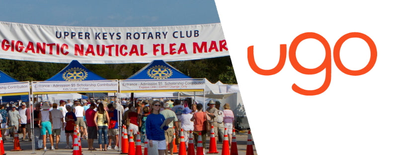 Meet ugo™ at the 2020 Upper Keys Rotary Club Gigantic Nautical Flea Market