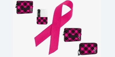 Pink Plaid For Breast Cancer Awareness