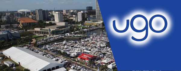 Meet ugo wear at the St. Petersburg Power & Sailboat Show 2017