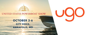 Meet ugo™ at the 2019 United States Powerboat Show
