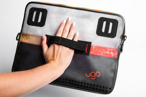 ugo™ Blue Geo Collection TABLET XL - Blue/Orange