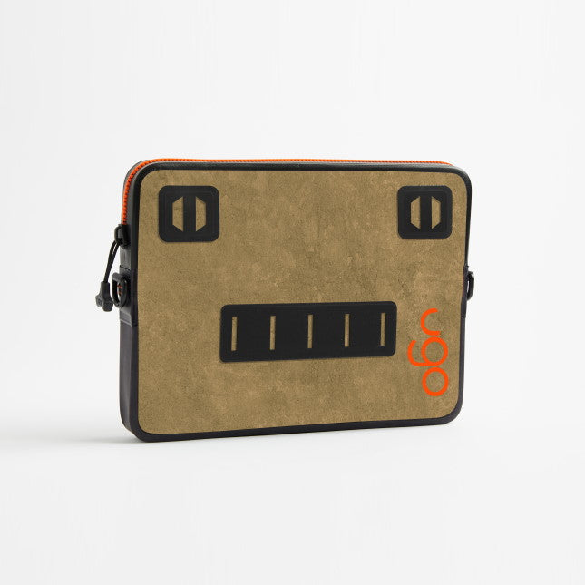 ugo™ Brush Canvas Collection TABLET XL - Khaki/Orange