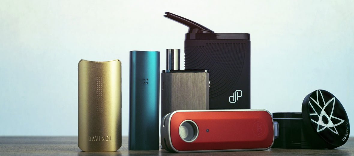 Get a free 420 Science grinder when you buy PAX, DaVinic, LINX, Boundless or Firefly Cannabis Vaporizer