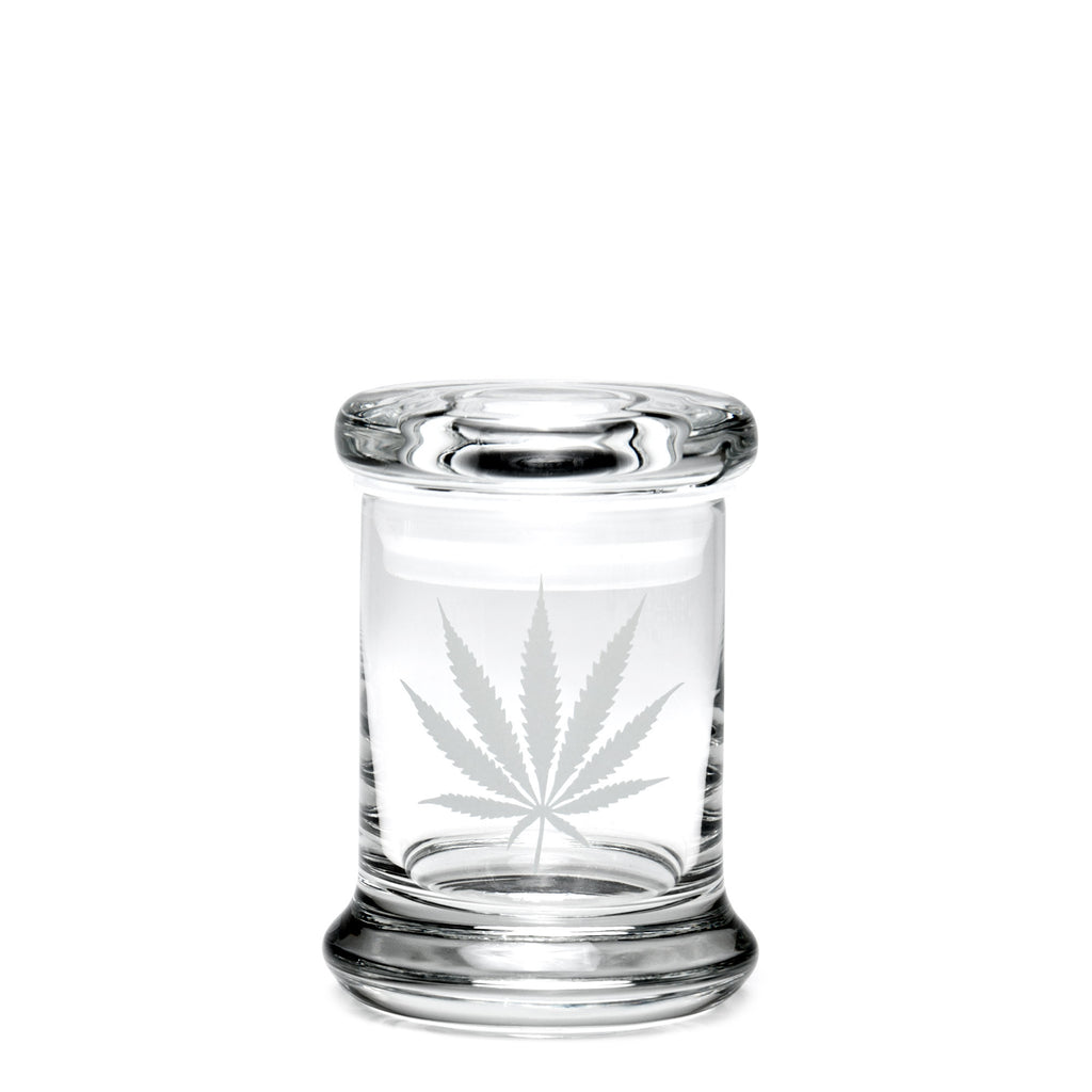 X-Small Pop-Top Silver Leaf - 420 Science