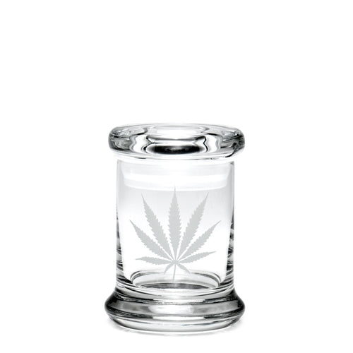 X-Small Pop-Top Silver Leaf - a 420 Jars, from 420 Science - find at 420Science.com