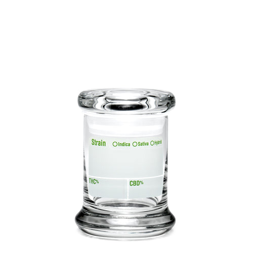 X-Small Pop-Top Modern Write & Erase - a 420 Jars, from 420 Science - find at 420Science.com