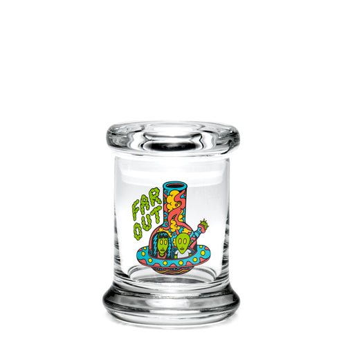 X-Small Pop-Top - Far Out - a 420 Jars, from 420 Science - find at 420Science.com