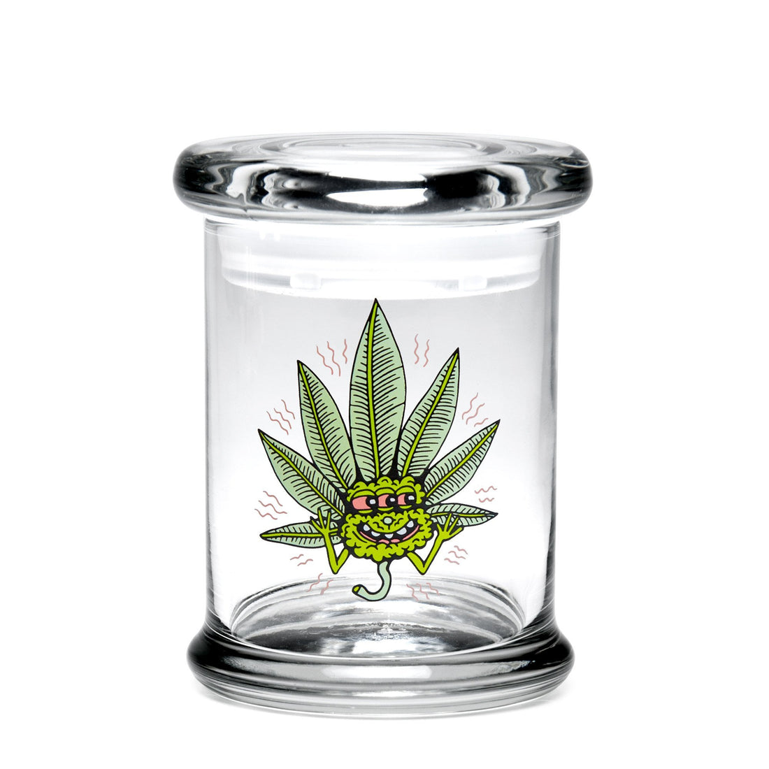 Medium Pop-Top - Happy Leaf - 420 Science - The most trusted online smoke shop.