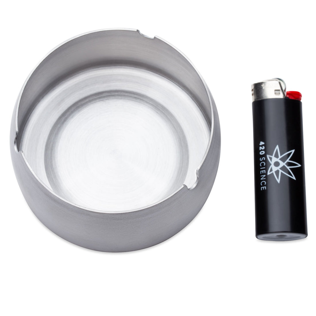 420 Science Stainless Steel Ashtray - Large