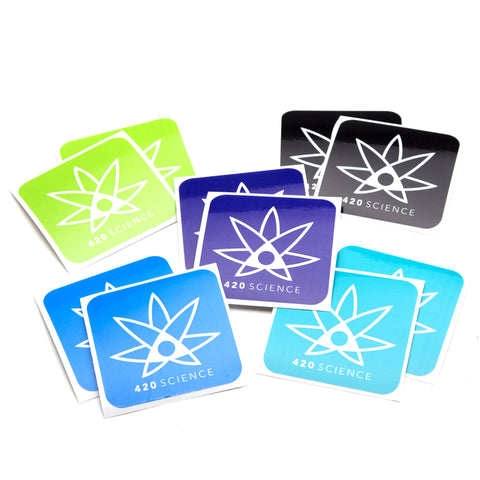 420 Science Sticker Pack - 420 Science