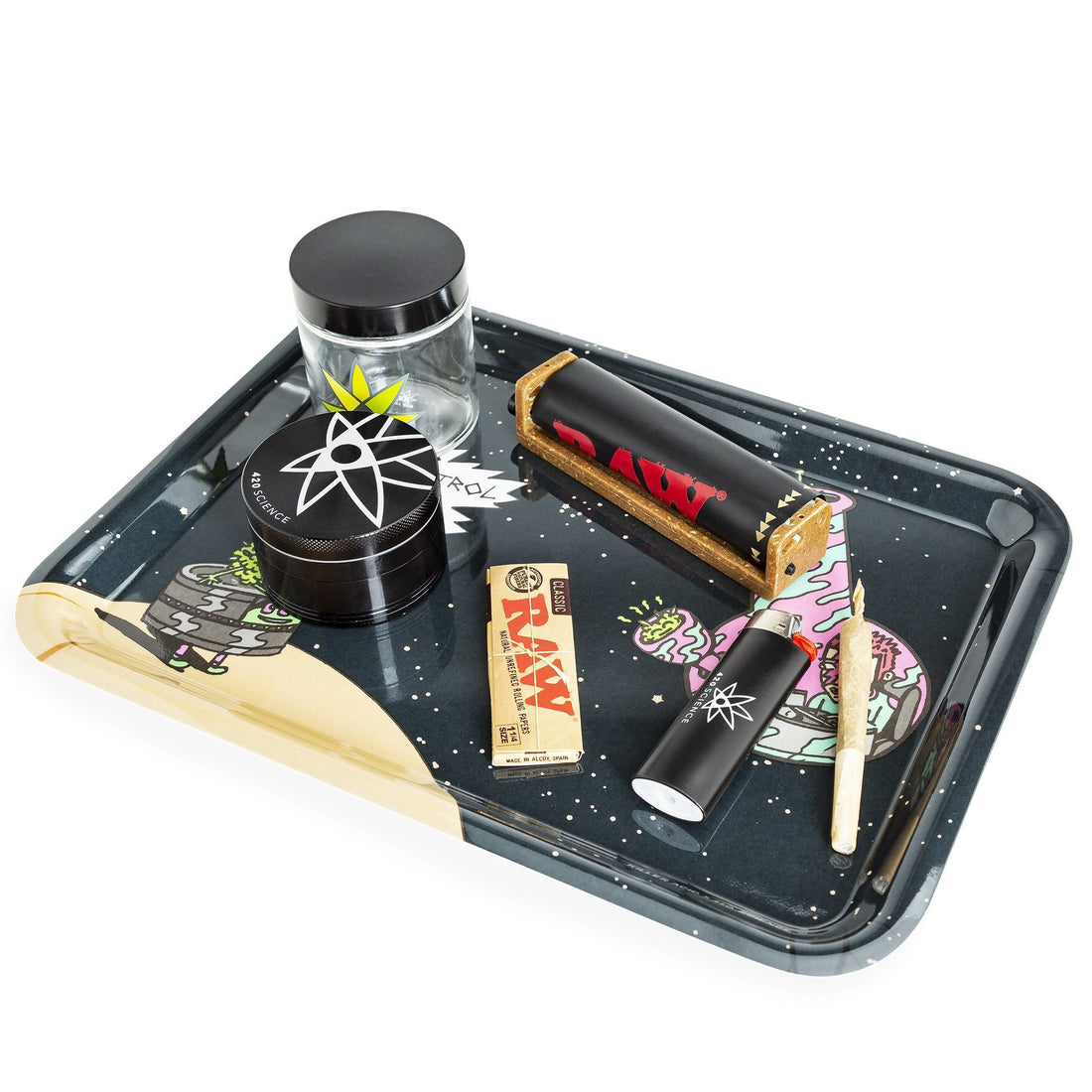 420 Science x Killer Acid Rolling Tray - Odd Space - 420 Science - The most trusted online smoke shop.