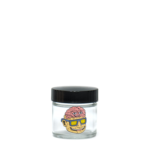 X-Small Clear Screw-Top - Teenage Lobotomy - a 420 Jars, from 420 Science - find at 420Science.com