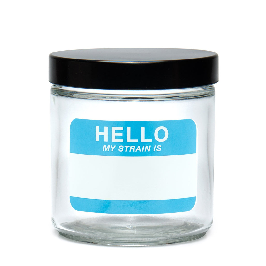 X-Large Clear Screw-Top - Hello Write & Erase