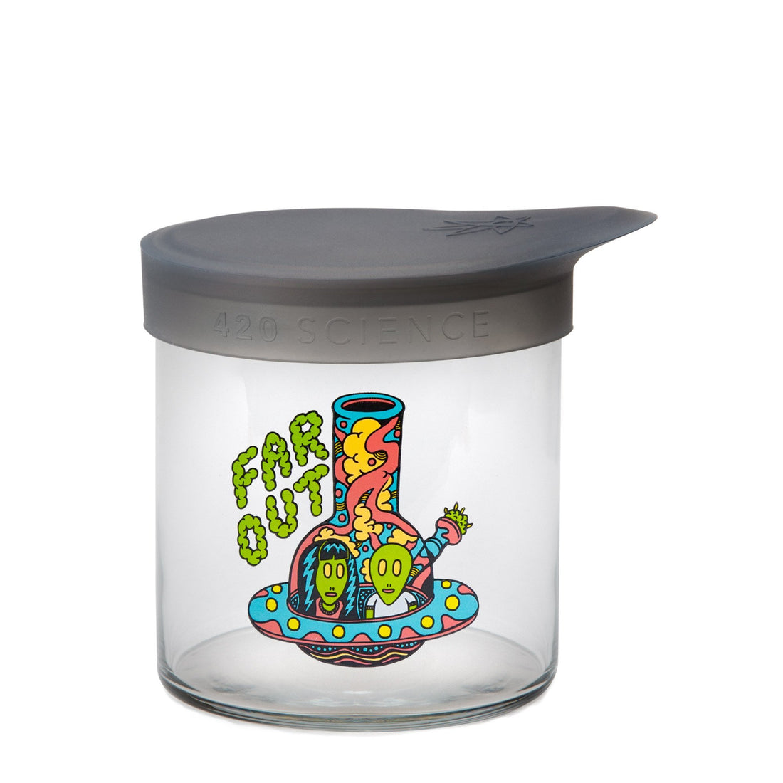 Medium Wide-Mouth - Far Out - 420 Science - The most trusted online smoke shop.