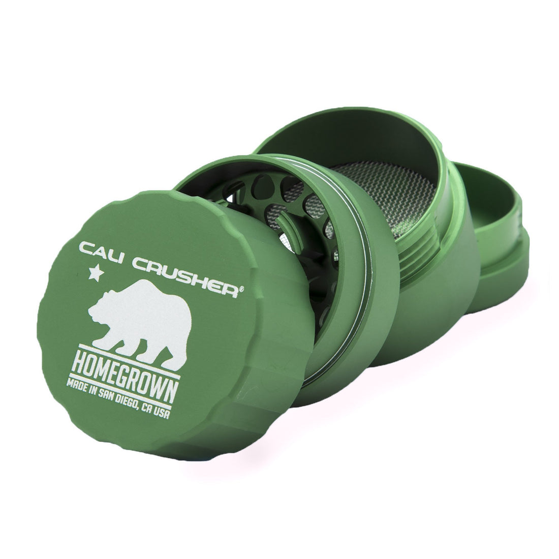 Cali Crusher Pocket Homegrown 4-Way Quicklock Grinder - 420 Science - The most trusted online smoke shop.