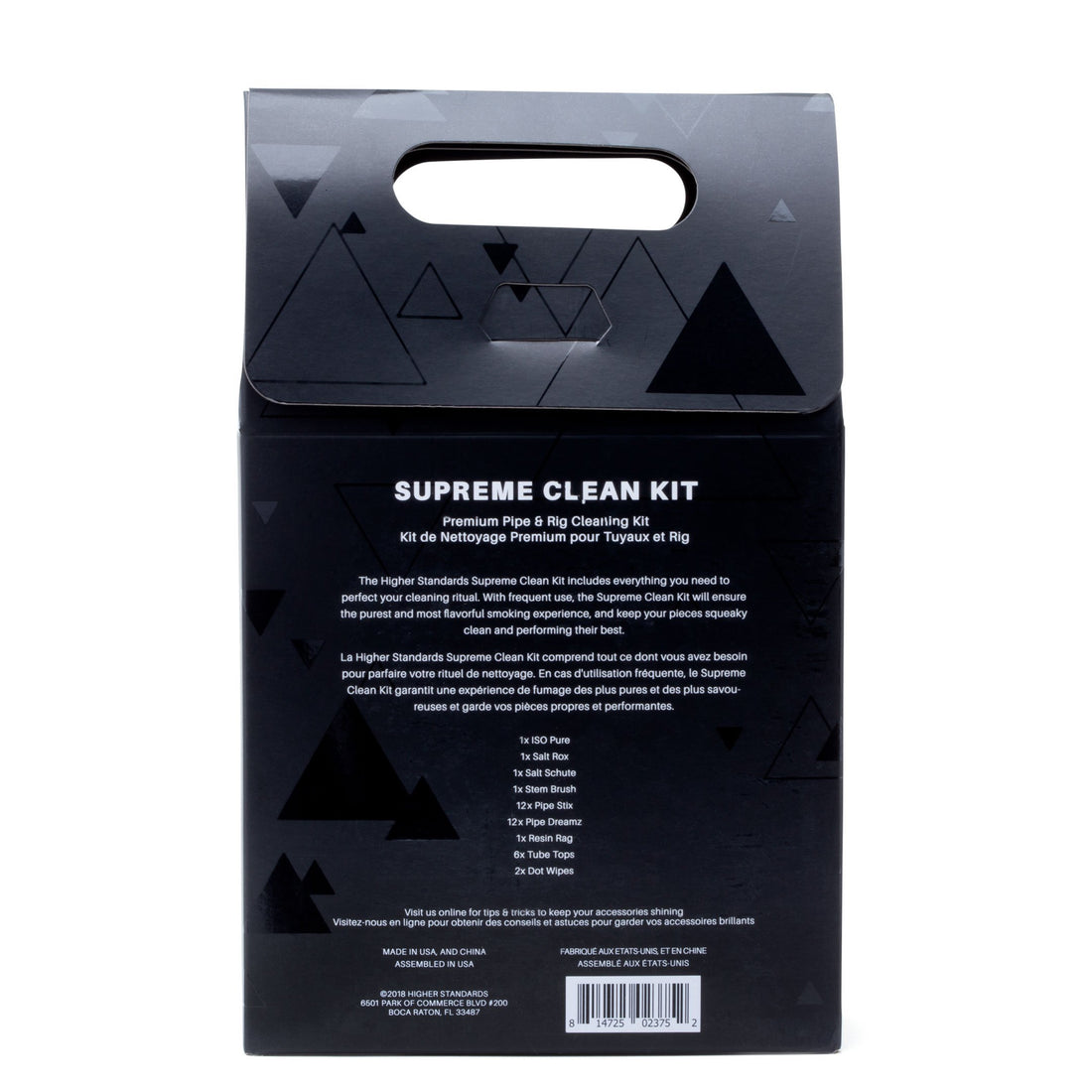 Higher Standards Supreme Clean Kit - 420 Science - The most trusted online smoke shop.