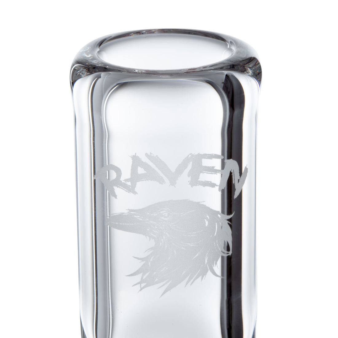 Raven Glass 12in Wavy Fumed Beaker - 420 Science - The most trusted online smoke shop.