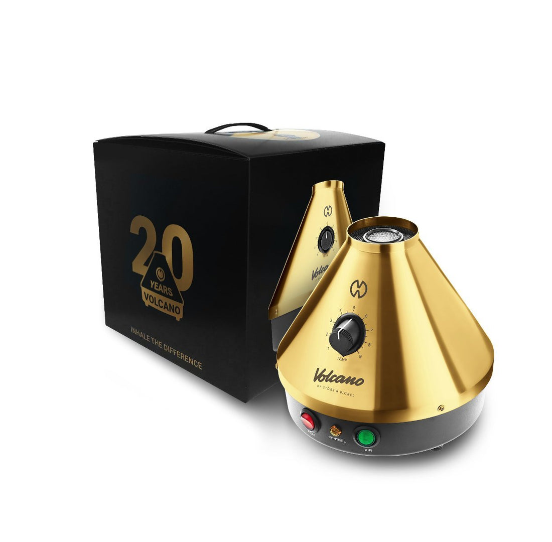 Storz & Bickel Volcano Classic Gold Edition Vaporizer