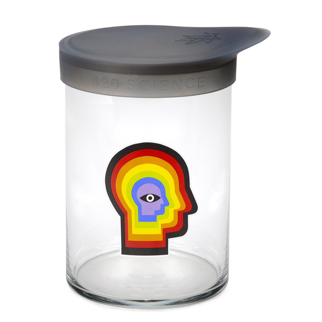 Large Wide-Mouth - Rainbow Mind - 420 Science - The most trusted online smoke shop.