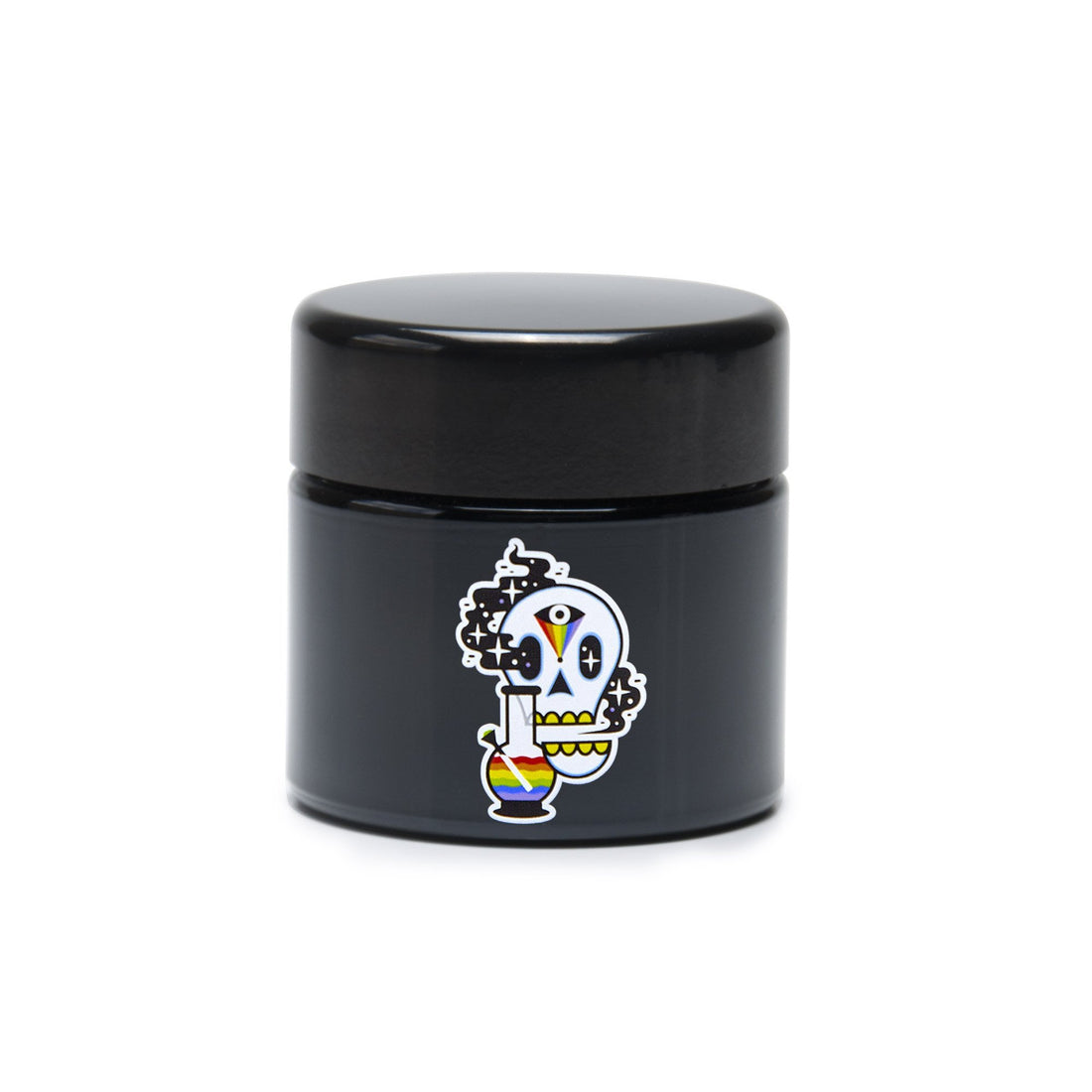 Medium UV Screw-Top - Cosmic Skull - 420 Science - The most trusted online smoke shop.