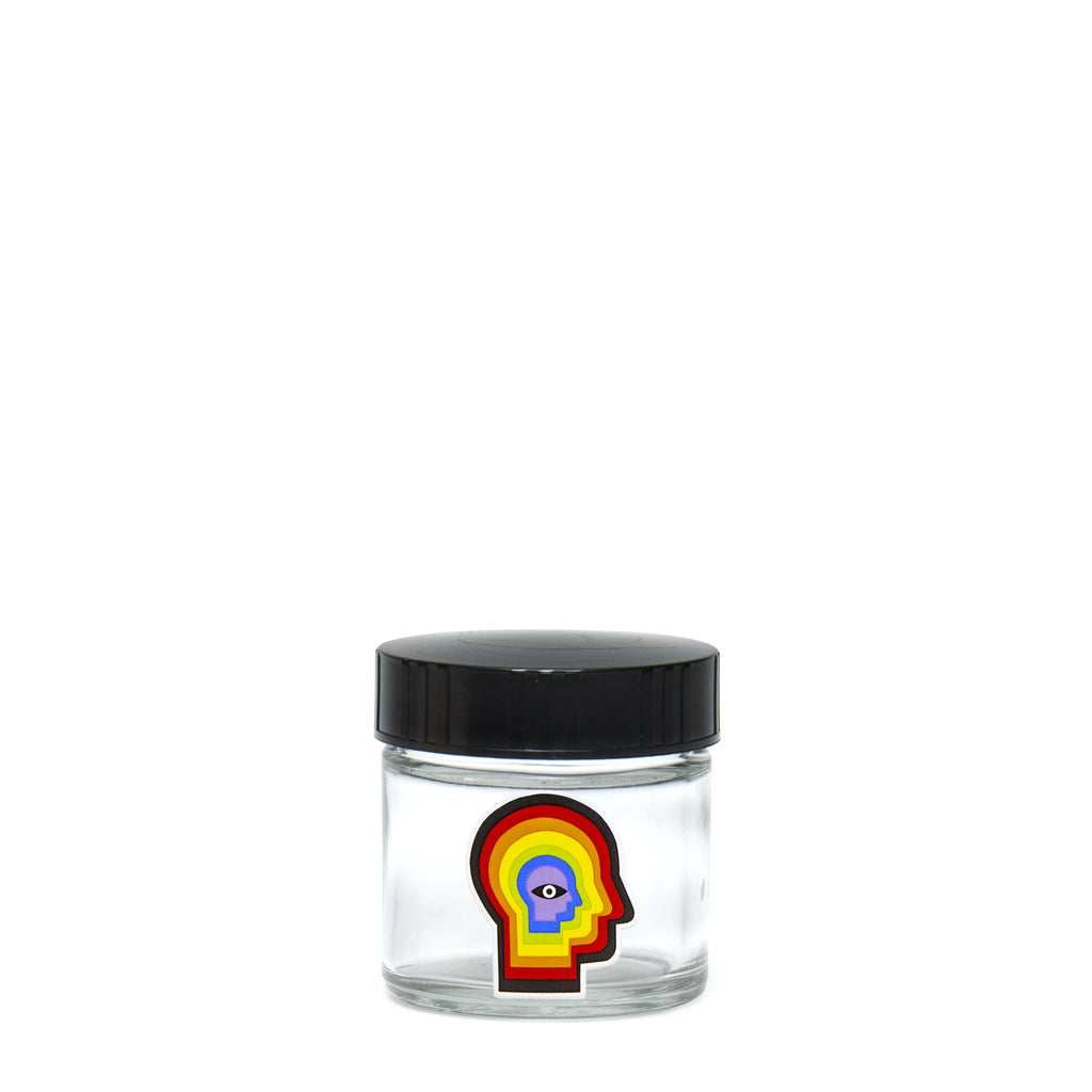 X-Small Clear Screw-Top - Rainbow Mind - 420 Science - The most trusted online smoke shop.