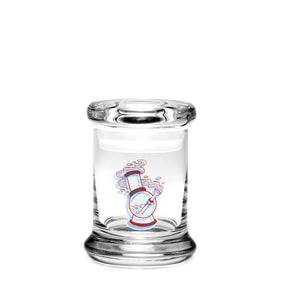 "X-Small Pop-Top - 3D ""Water Pipe"" - a 420 Jars, from 420 Science - find at 420Science.com"