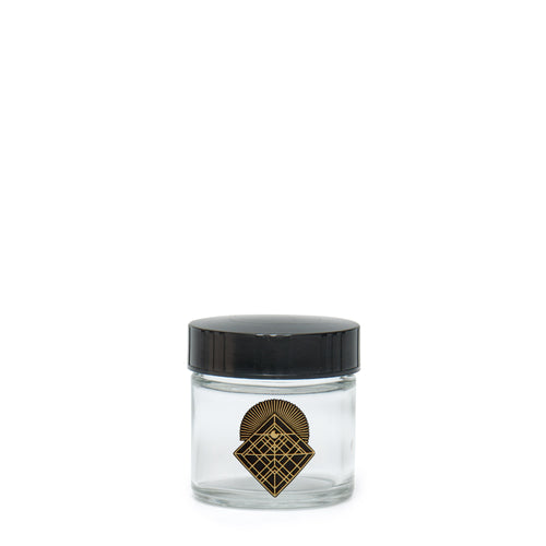 X-Small Clear Screw-Top - Crystal - a 420 Jars, from 420 Science - find at 420Science.com