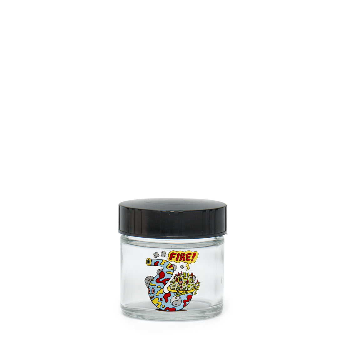 X-Small Clear Screw-Top - Fire Bud - 420 Science - The most trusted online smoke shop.