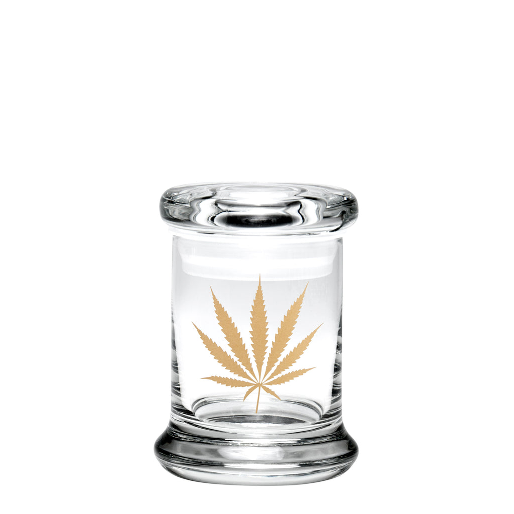 X-Small Pop-Top - Gold Leaf from 420 Science -  - available at 420 Science - The most trusted online headshop.