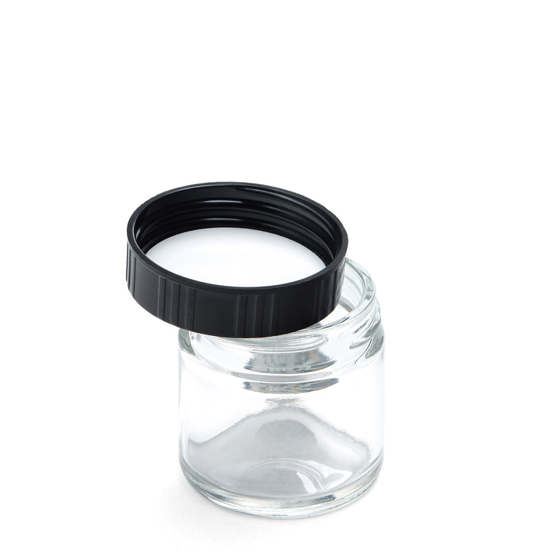 X-Small Clear Screw-Top - Silver Leaf - 420 Science - The most trusted online smoke shop.