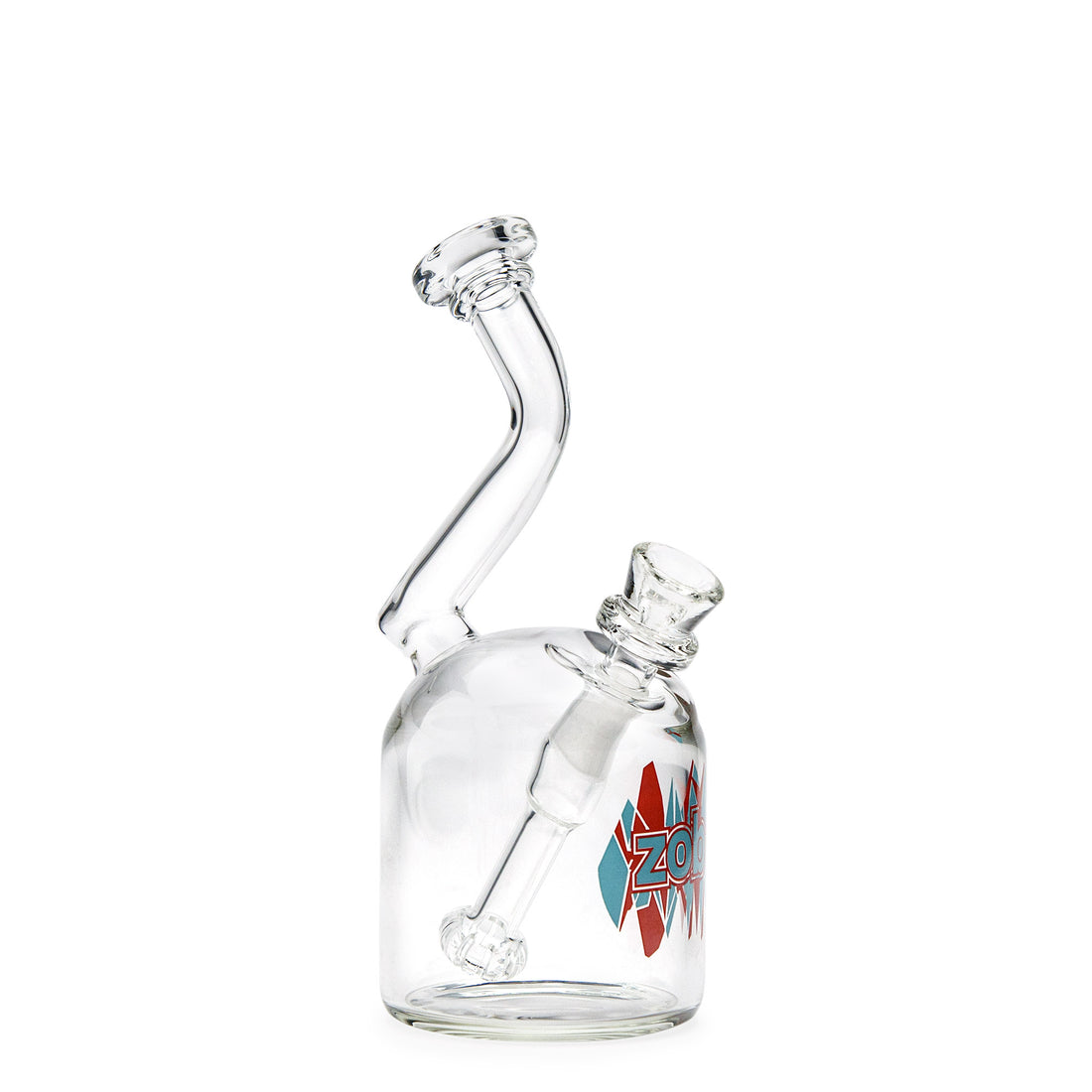 Zob 7in Bubbler w/Fixed Showerhead Downstem - 420 Science - The most trusted online smoke shop.