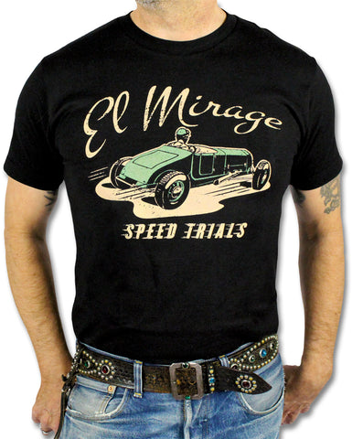 Atomic Swag El Mirage Mens Hot Rod T-shirt Black