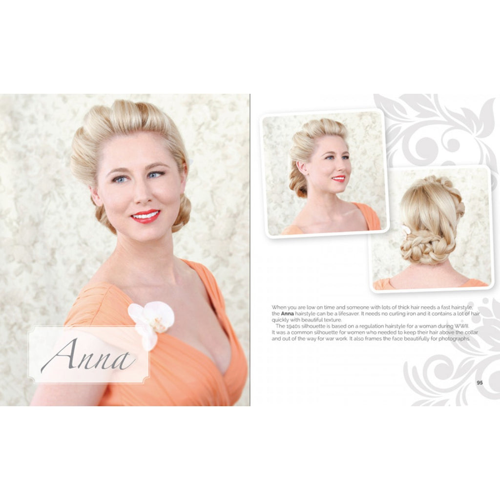 Vintage Inspired Wedding Hairstyles Book – Audrey Star\'s Boutique