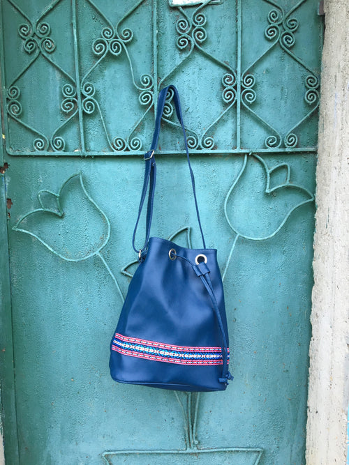 Piranda Original Shoulder Bag - Blue