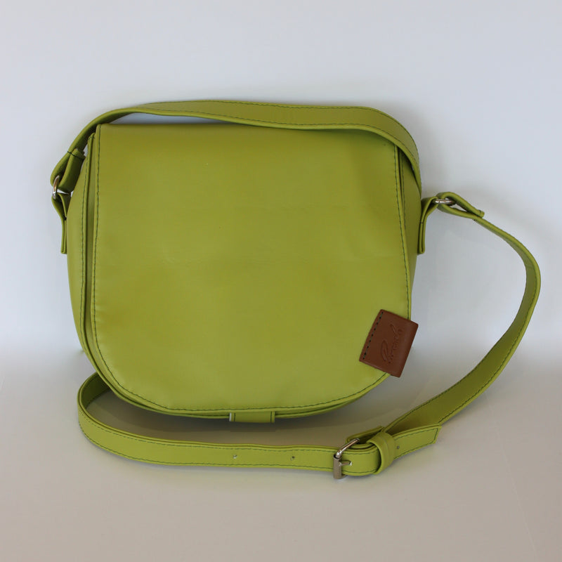 Shoulder Bag in Lime Green
