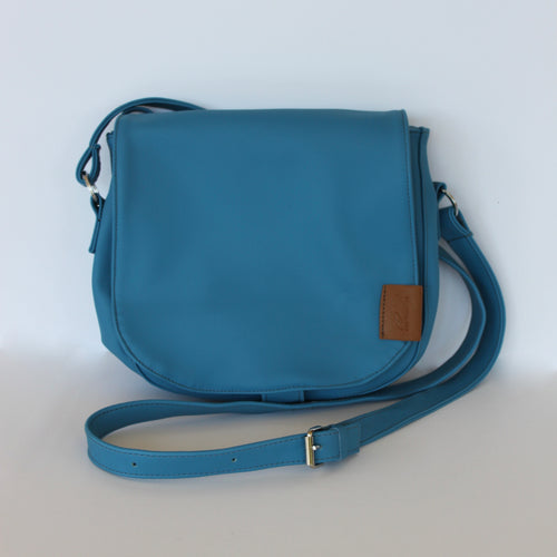 Shoulder Bag in Ocean Blue