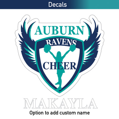 Ravens Decal - Cheer