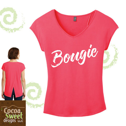 Bougie cross back tee