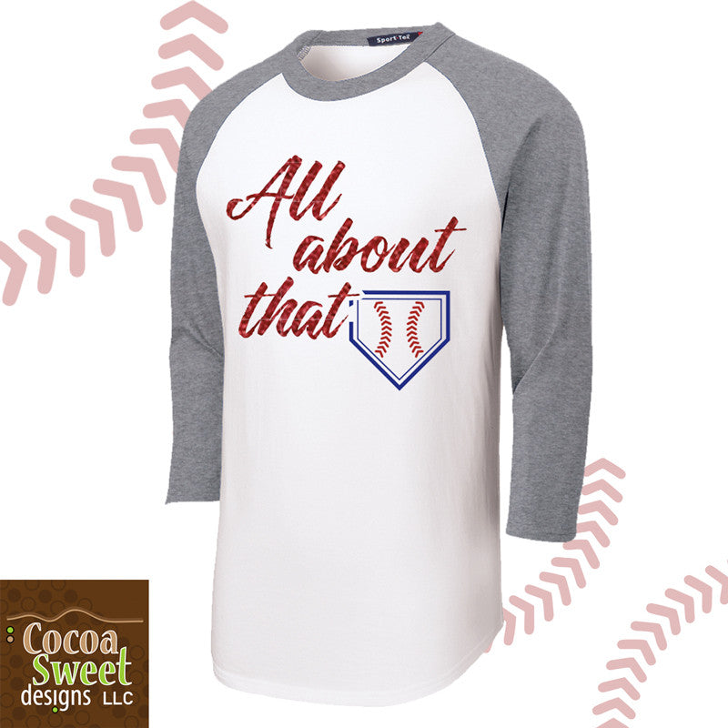 All About that Base Baseball Tee