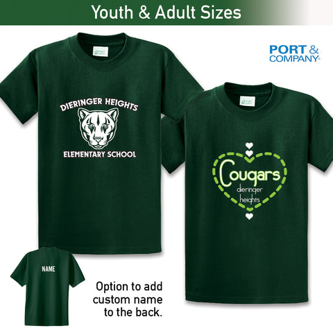 Dieringer Hts - Tee, Youth & Adult